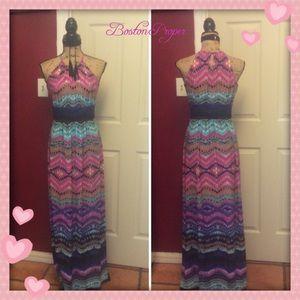 Beautiful boston proper maxi dress